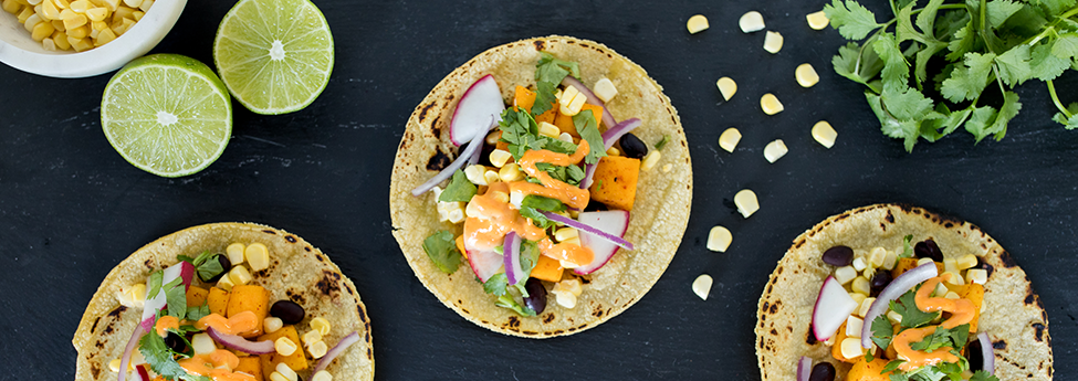 Plant-Based Butternut Squash Tacos