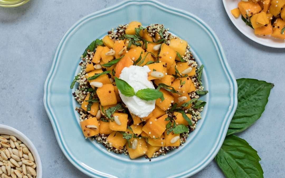 Tuscan Squash And Quinoa