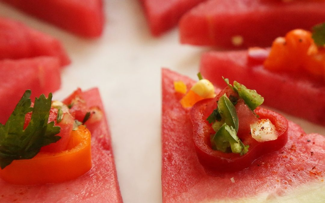 Sweet Watermelon Pizza