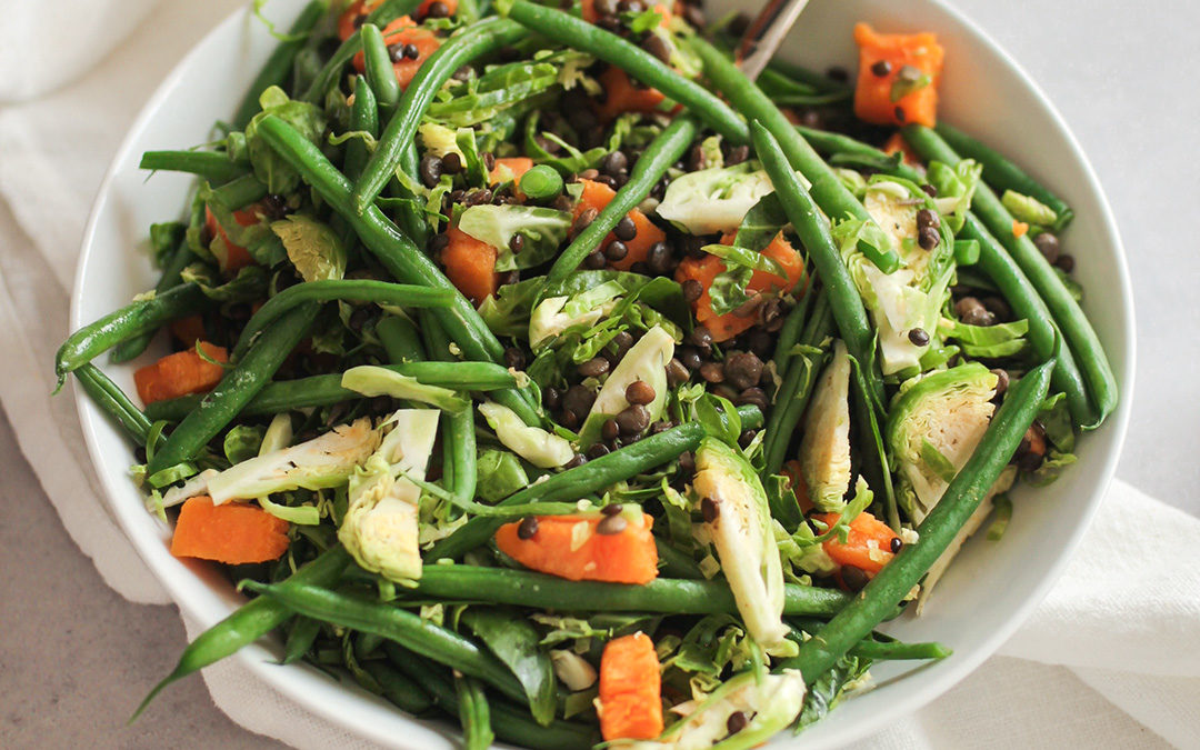 French Bean Lentil Side Dish