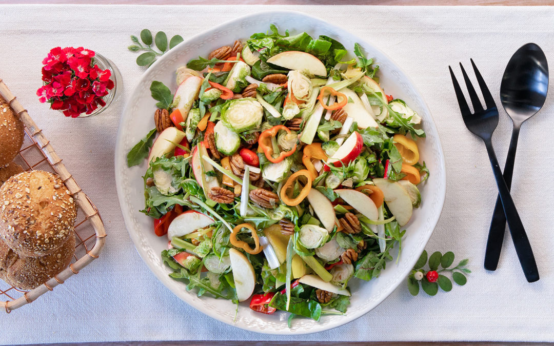 Sweet Holiday Crunch Salad