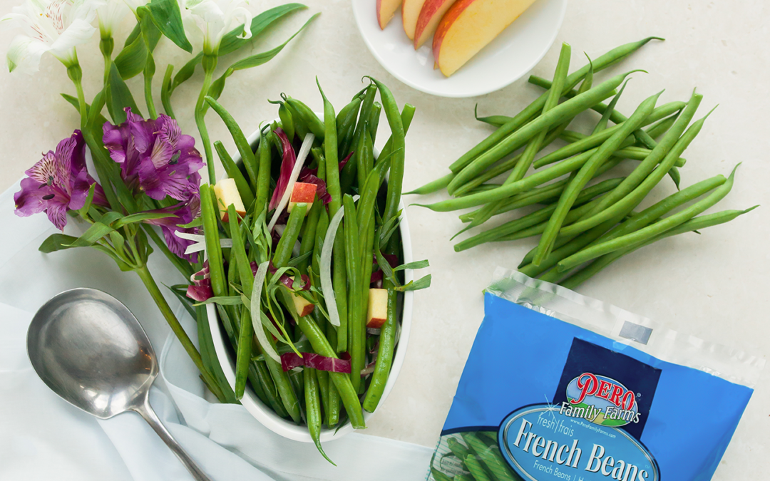 French Bean Apple Salad