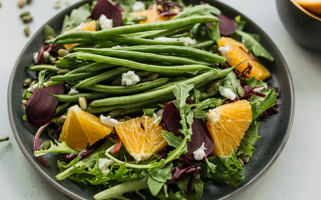 French Bean Harvest Salad