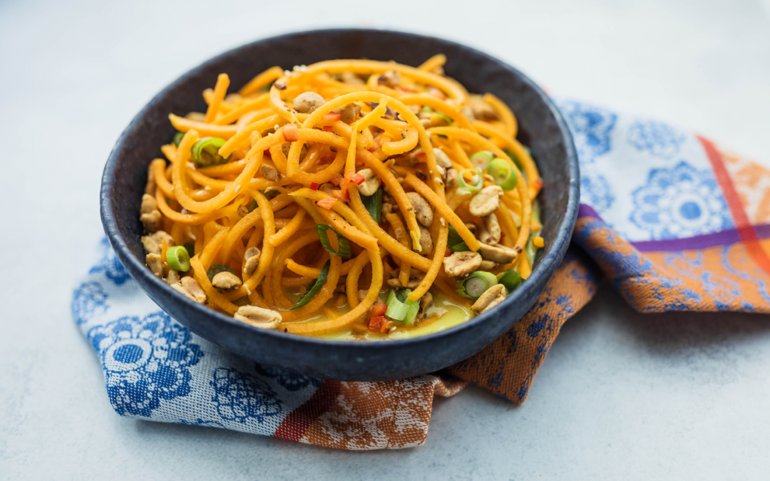Coconut Curry Butternut Spirals