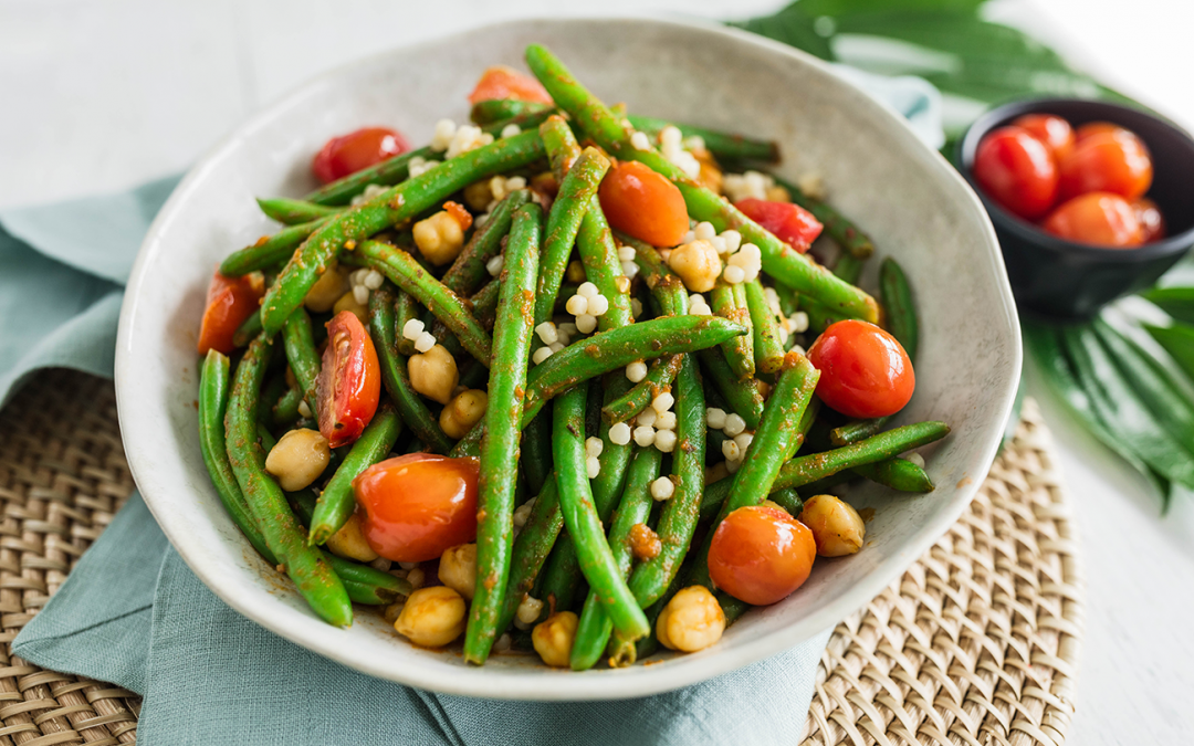 Moroccan Tagine Green Beans