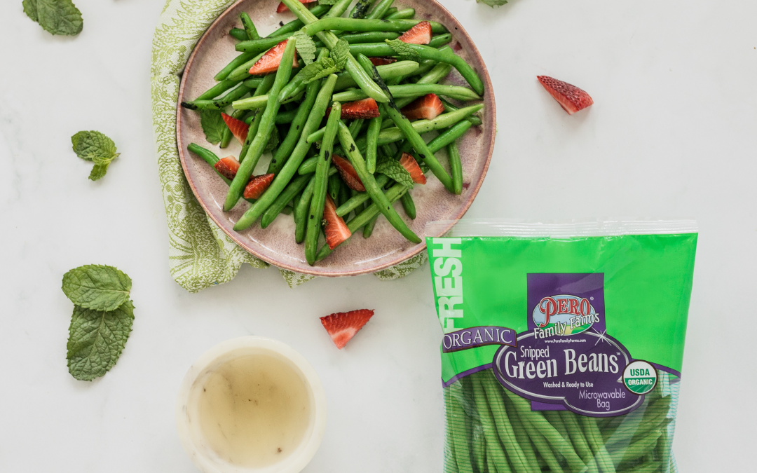 Grilled Green Beans & Berries