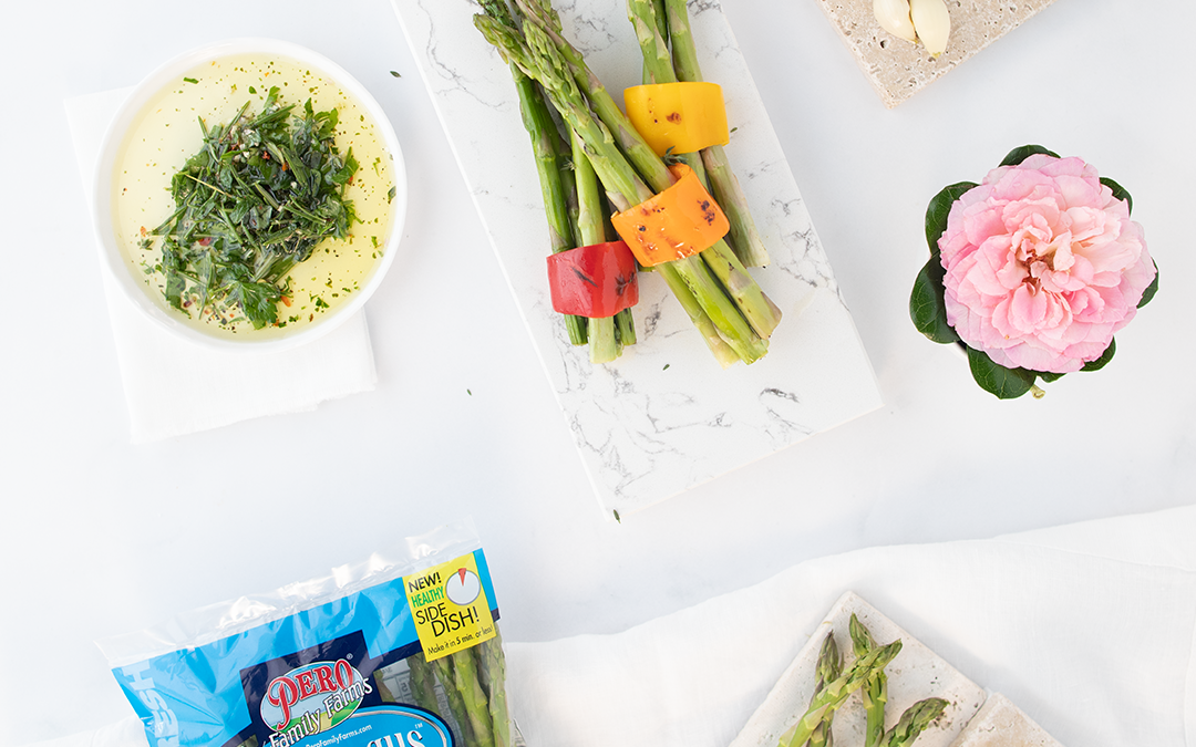Grilled Vegetable Bouquets